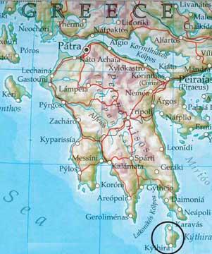 Wanderparadies Insel Kythira